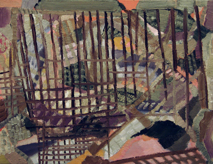 QuietlyLoud – Natasha Conway, Alisha Kerlin, Cassie Raihl - Natasha Conway, Untitled, 2010. Oil on linen, 13 x 17 in.