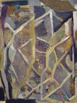 QuietlyLoud – Natasha Conway, Alisha Kerlin, Cassie Raihl - Natasha Conway, Untitled, 2010. Oil on linen, 16 x 12 in.