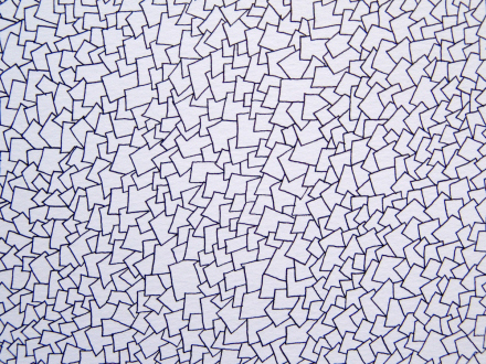 Nadia Khawaja – Drawings – Videos- Photographs - Nadia Khawaja, Drawing 28, 2010. Felt-tip pen on paper, 29.5 x 39.5 in (detail).