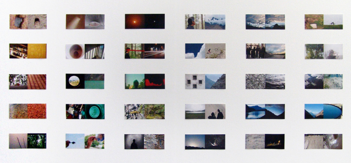 Nadia Khawaja – Drawings – Videos- Photographs - Nadia Khawaja, Untitled, 2009. C-prints, 30 diptychs, 18 x 51 in, ed. of 3 (+2 AP).