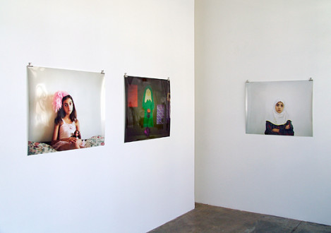 Newsha Tavakolian - Installation view: project space, Newsha Tavakolian