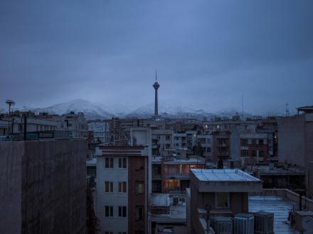 Newsha Tavakolian Art Basel Hong Kong - <i>Blank Pages of an Iranian Photo Album</i>, 2014 - 2015, Archival inkjet print, 43 1/4 x 57 7/8 in, edition of 7 + 2 AP.