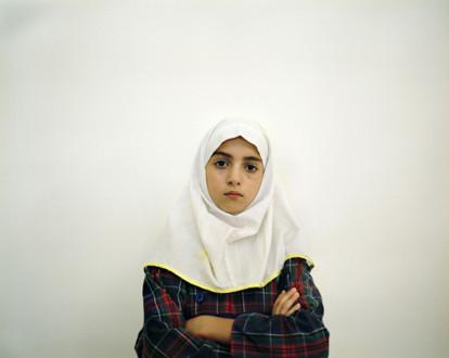 Ala Dehghan I Can Explain Everything - Newsha Tavakolian, <i>The Day I Became a Woman No. 2</i>, 2010. C-print, triptych, ed. of ten, 70 x 100 cm.