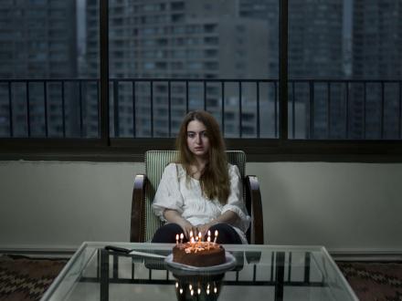 Newsha Tavakolian – Look - Look, 2012. Inkjet print, edition of 7 (+2 AP), 41 x 55 in.