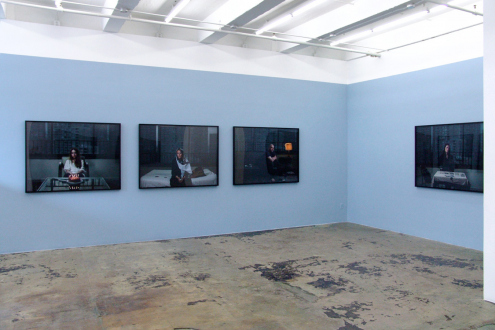 Newsha Tavakolian – Look - Installation view, east and south wall.