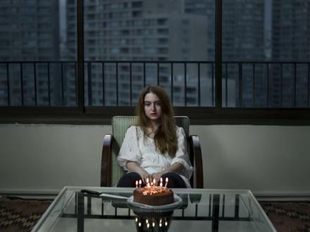 Newsha Tavakolian Look - <i>Look</i>, 2012. Inkjet print, edition of 7 (+2 AP), 41 x 55 in.