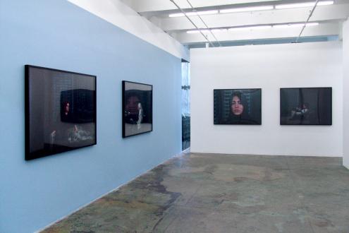 Newsha Tavakolian Look - Installation view, West and North wall. Thomas Erben Gallery, Look, April 11 - May 11, 2013.