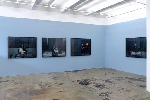 Newsha Tavakolian Look - Installation view, East and South wall. Thomas Erben Gallery, Look, April 11 - May 11, 2013.
