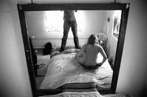 PAT – Unseen, unheard, unexplained - PAT Untitled (Bed Mirror), 2003. Gelatin silver print, 14.5 x 21.5 in (image size), ed. of 7.