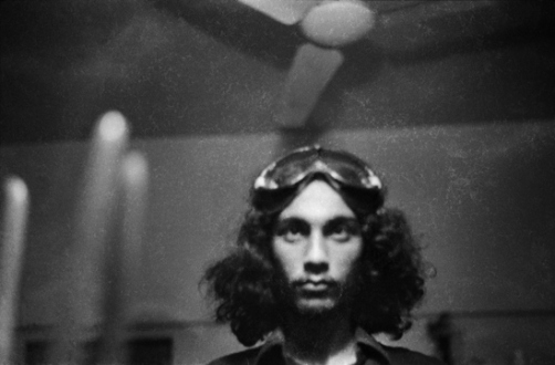 Pablo Bartholomew – Outside In - Self Portrait, 1975. Gelatin silver print, edition of 10 (+3 AP), 16 x 24 in.