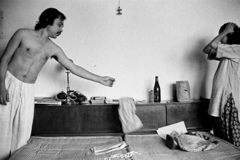 Pablo Bartholomew – Outside In - Sunder and Ammu, 1977. Gelatin silver print, edition of 10 (+3 AP), 16 x 24 in.