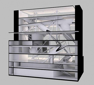 Preston Scott Cohen – Toroidal Architecture - Thomas Erben Gallery