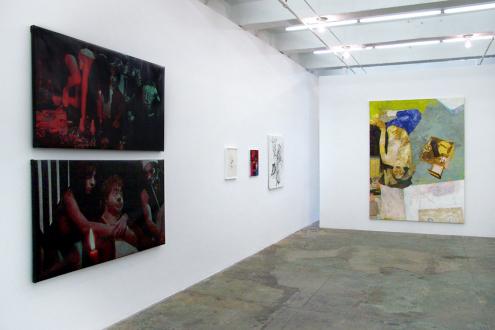 Paint as Figure – Kohei Akiba, Jonathan Delachaux, Jennifer Packer, Schandra Singh, Zheng Wei - Thomas Erben Gallery