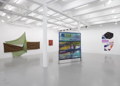 Painter Reply: Experimental Painting in the 1970's and now. Lisson Gallery, New York -
