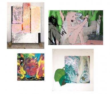 Pleasure in Precariousness – Sarah Faux, Haley Josephs, RJ Messineo, Wang Chen - Thomas Erben Gallery
