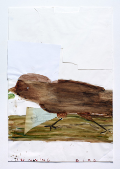 Rose Wylie – Girl and Spiders -