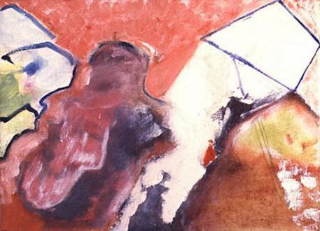 15 Years Thomas Erben - Seth Edenbaum, Untitled (Dream Painting), 1995. Oil on Canvas, 16 x 22 in.