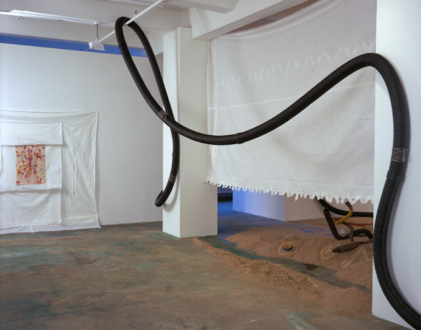 Senga Nengudi – Asp-Rx - Installation view (north wall): Senga Nengudi, Asp-Rx, 2005.