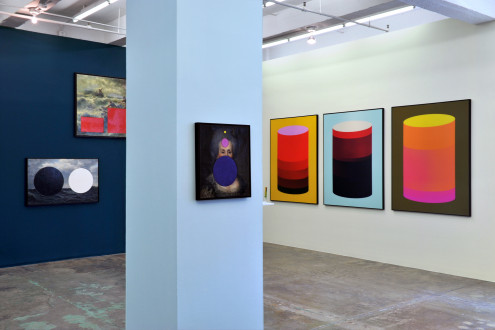 Beautiful Numbers - Installation view, north and west walls.