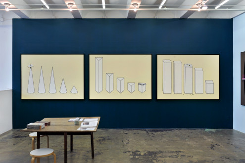 Beautiful Numbers - installation view, east wall.