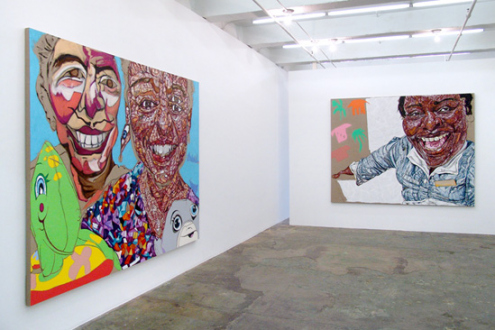 Schandra Singh – God Don't Like Ugly - Installation view, west and north wall.