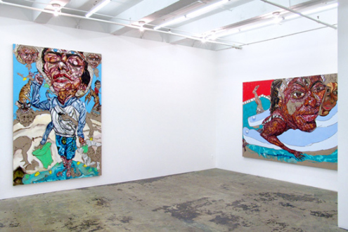 Schandra Singh – God Don't Like Ugly - Installation view, east and south wall.