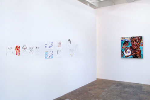 Schandra Singh – God Don't Like Ugly - Installation view, project space.