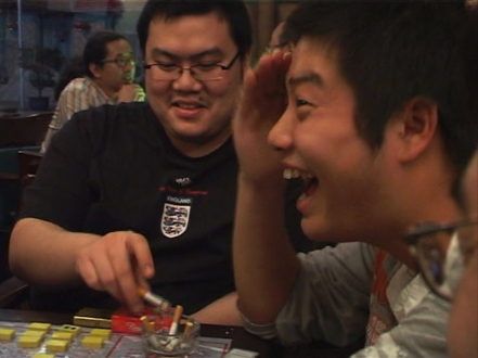 Focus Shanghai – Lu Chunsheng, Birdhead - Birdhead, video still from 4.7 GB: Part 2 - Four Country (2007). Video with sound by B6, 6 minutes.