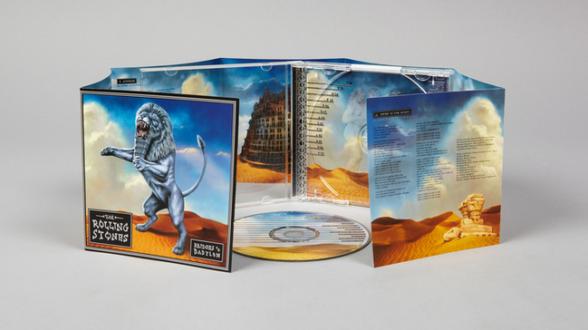 Album Covers - The Rolling Stone, </i>Bridged to Babylon</i>. 1997.