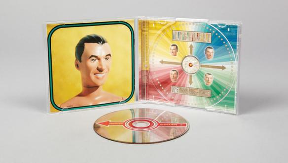 Album Covers - David Byrne, <i>Feelings</i>, 1997.