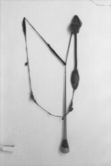 Nylon Mesh - <i>R.S.V.P.</i> fall 1976 (original piece/documentation) Nylon mesh, sand and pins, 5 x 2.5 feet.
