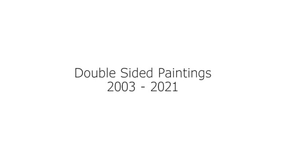 Dona Nelson – Double sided paintings - Thomas Erben Gallery
