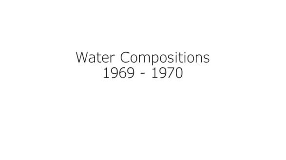 Water Compositions - Thomas Erben Gallery