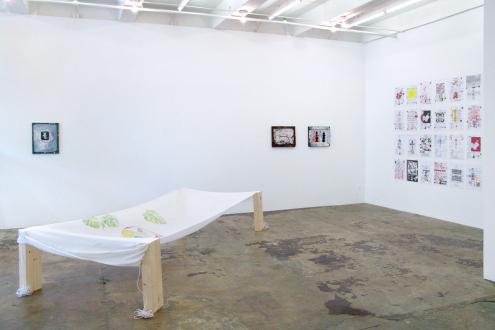 Yevgeniya Baras – Carolin Eidner – Adelhyd van Bender - Thomas Erben Gallery