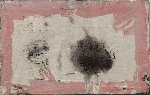 Los Angeles Bound – Diedrick Brackens, Thomas Lawson, Tiffany Livingston, Mark Roeder - Tiffany Livingston, Felix, 2016. Oil on linen, 10 x 16 inches