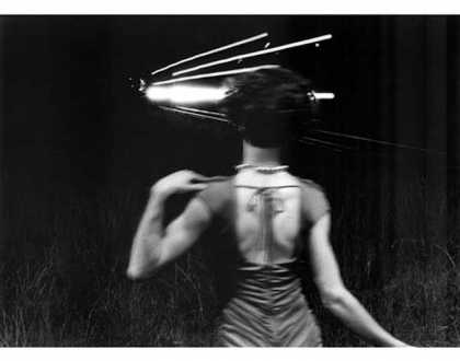Tejal Shah – What are You? - Tejal Shah, Back to Front III, 2000. Diptych, black and white silver gelatin print on fiber based paper, 16 x 20 in, ed. of 8 (+ 2 AP).