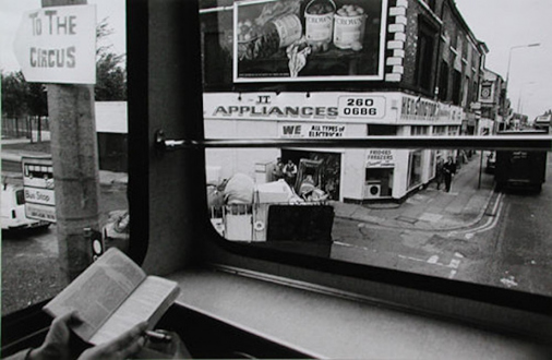 Tom Wood – The Bus Project - Kensington, 1988. B/W print, 11 x 17 in, edition of 6 (+1 AP).