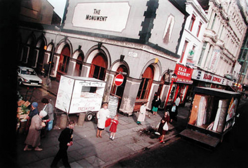 Tom Wood – The Bus Project - London Road - City Centre, 1989. C-print, 12 x 18.5 in, edition of 6 (+1 AP).
