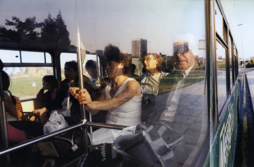 Tom Wood – The Bus Project - Scotland Road, 1989. C-print, 12 x 18.5 in, edition of 6 (+1 AP).