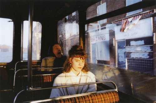 Tom Wood – The Bus Project - Vauxhall Circular, 1989. C-print, 12 x 18.5 in, edition of 6 (+1 AP).