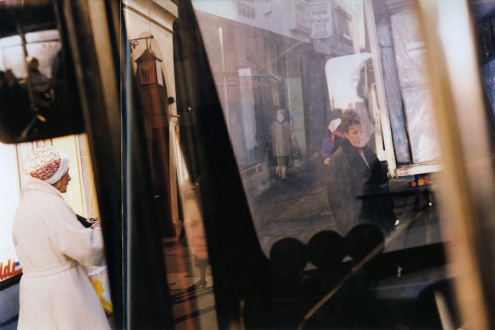 Tom Wood – The Bus Project - London Road - City Centre, 1990. C-print, 12 x 18.5 in, edition of 6 (+1 AP).