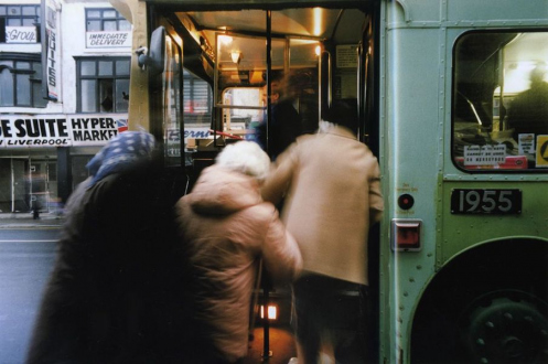 Tom Wood – The Bus Project - London Road - City Centre, 1991. C-print, 12 x 18.5 in, edition of 6 (+1 AP).