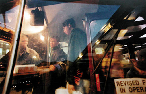 Tom Wood – The Bus Project - Gyratory - City Centre, 1993. C-print, 12 x 18.5 in, edition of 6 (+1 AP).