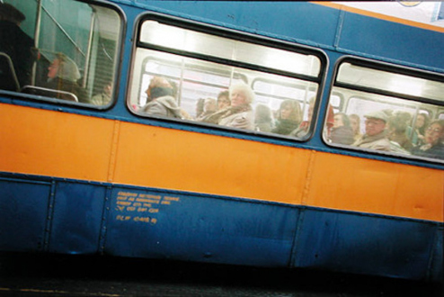 Tom Wood – The Bus Project - London Road - City Centre, 1994. C-print, 12 x 18.5 in, edition of 6 (+1 AP).