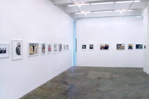 Tom Wood – Men and Women - Installation view, west and north wall.