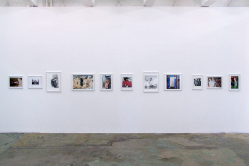 Tom Wood – Men and Women - Installation view, west wall.