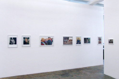 Tom Wood – Men and Women - Installation view, north wall.
