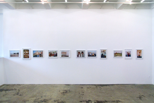 Tom Wood – Men and Women - Installation view, east wall.