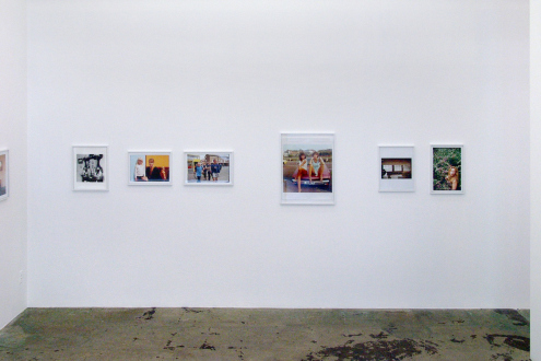 Tom Wood – Men and Women - Installation view, south wall.