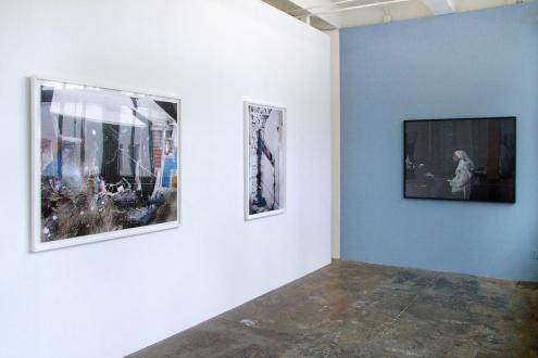 Tom Wood – Men and Women - Installation view, project space: Yamini Nayar, Newsha Tavakolian.